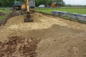 Niwelacja terenu i roboty ziemne